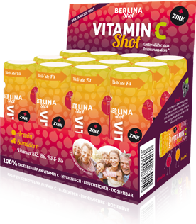 Die Berlina Vitamin+C Shot Box - Vitaminshot-Box